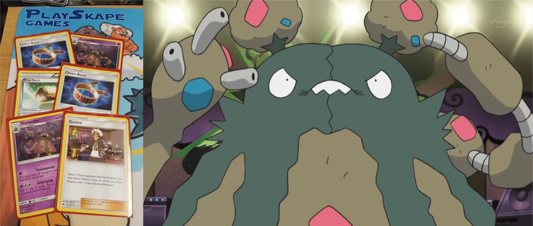 My face when I realised both Garbodor's were prized!