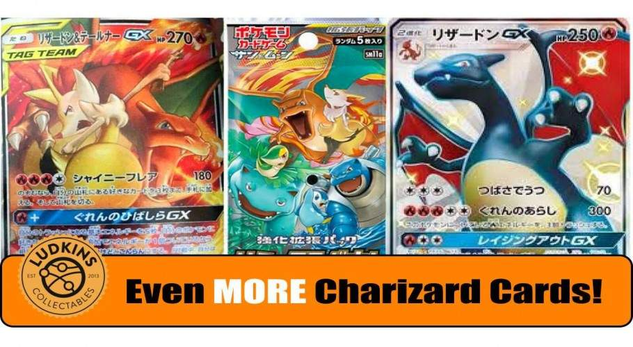 MORE Charizard Cards?! - Charizard & Braixen-GX & Friends!