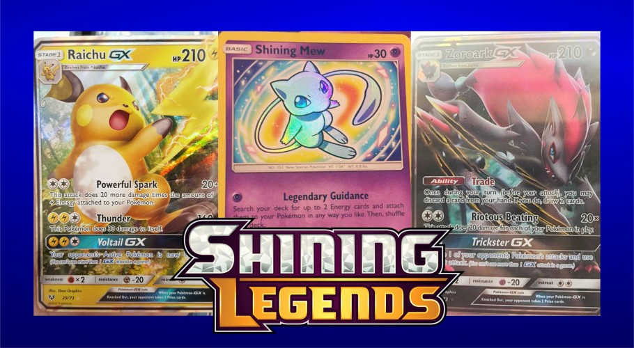 SO SHINY! ~ Top 5 Cards from Shining Legends Pokémon TCG