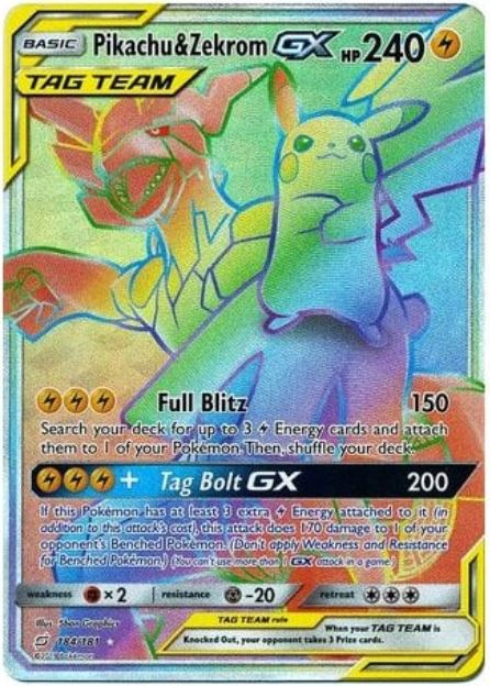 Top 5 Most Expensive Hyper Rainbow Rare Gx Pokemon Cards