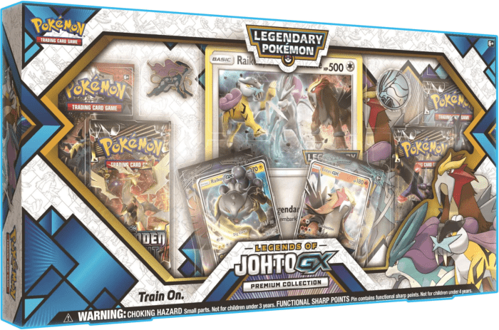 Legends of Johto GX Collection Pokemon TCG Raikou Entei GX