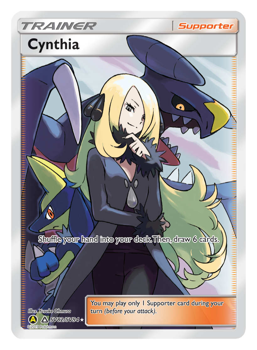 Cynthia Full Art